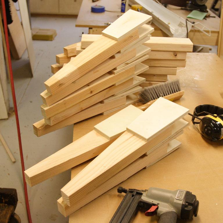 Small Shop Lumber Storage