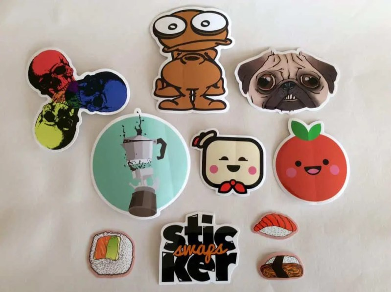 Sticker Swaps Subscription Box – March 2017 Review