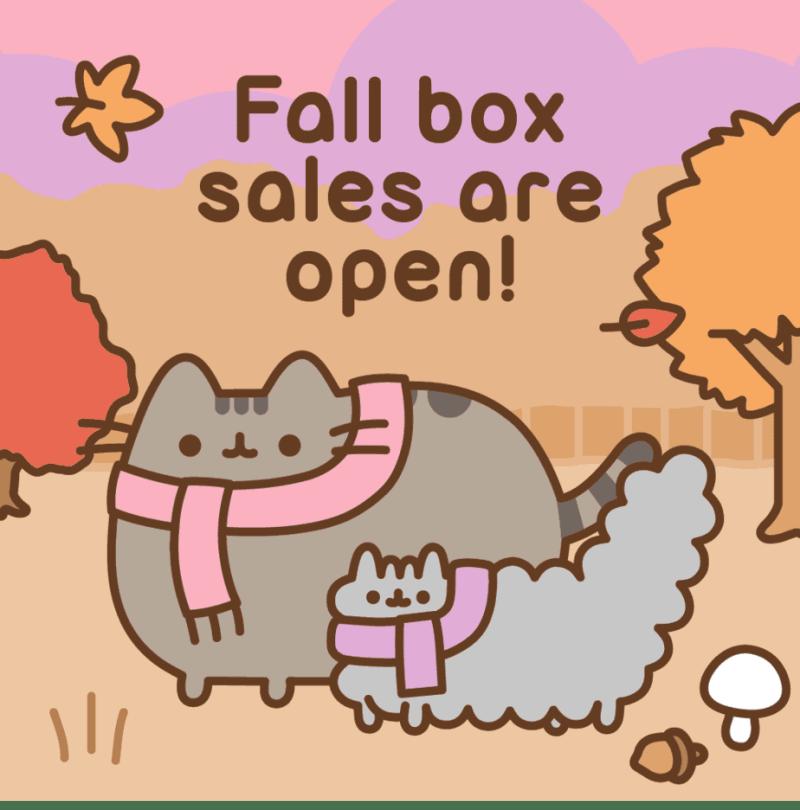 Pusheen Box Fall 2020.Pusheen Fall Subscription Box Sign Ups Are Open