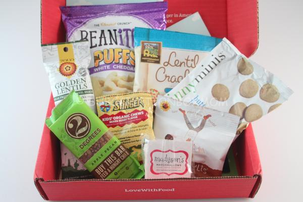 Love with Food July 2014 Review Free Box New Box