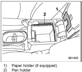 Center console :: Storage compartment :: Interior