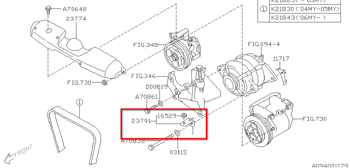 Subaru Alternator Diagram. Subaru. Auto Parts Catalog And