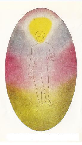 corpo astral do homem desenvolvido