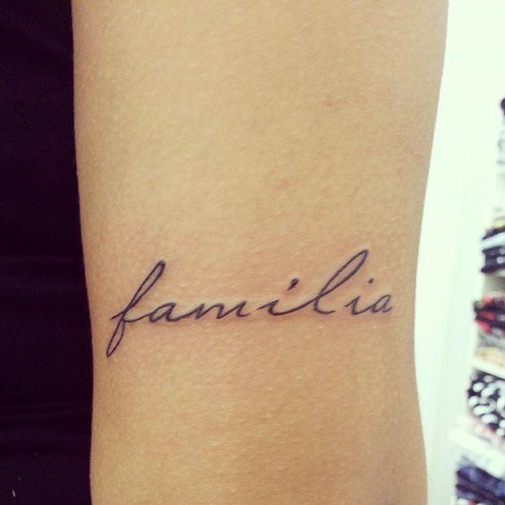 Familia Tattoo Meaning