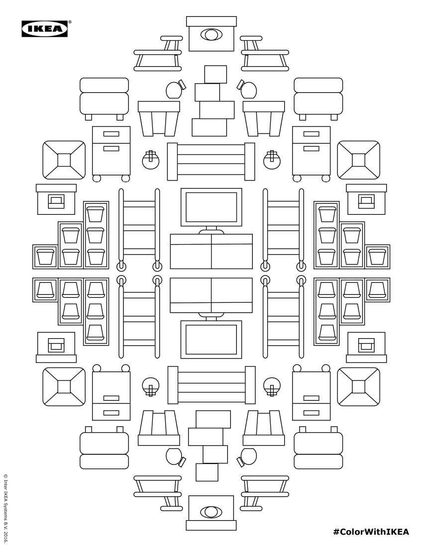 Ikea's Coloring Books + Subtraction.com