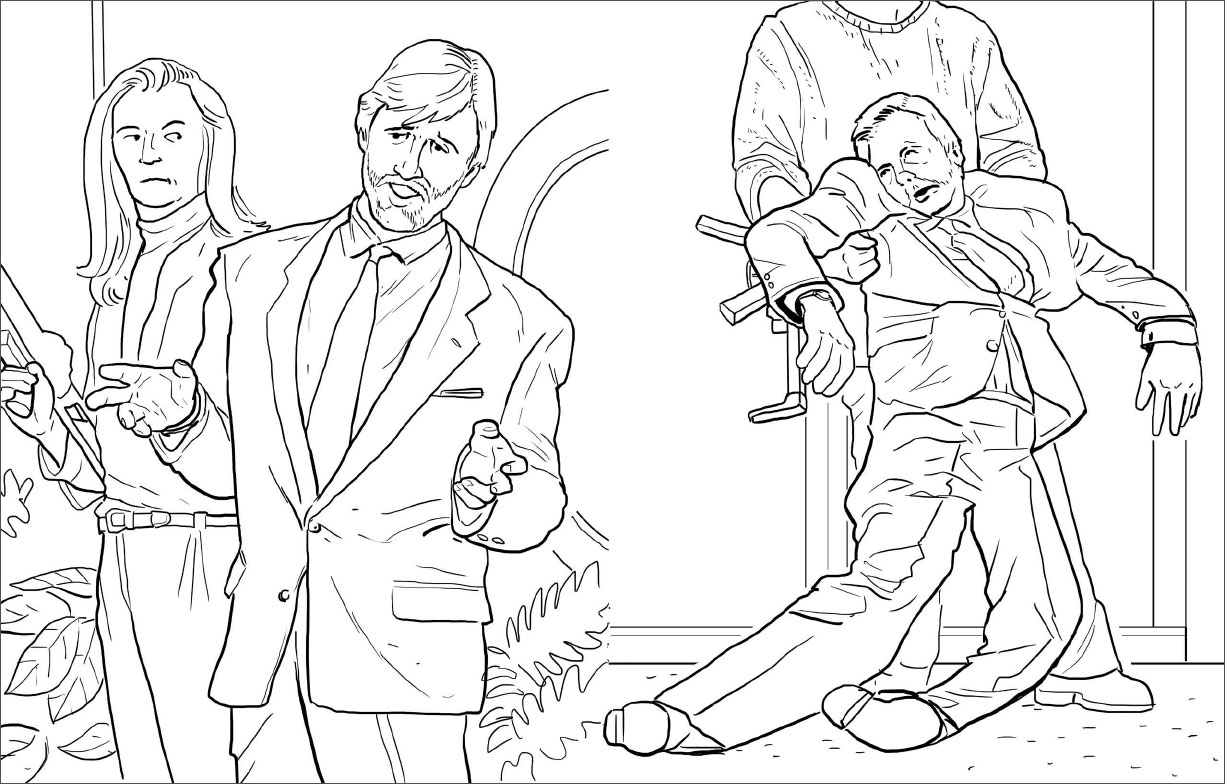 Die Hard: The Coloring Book + Subtraction.com