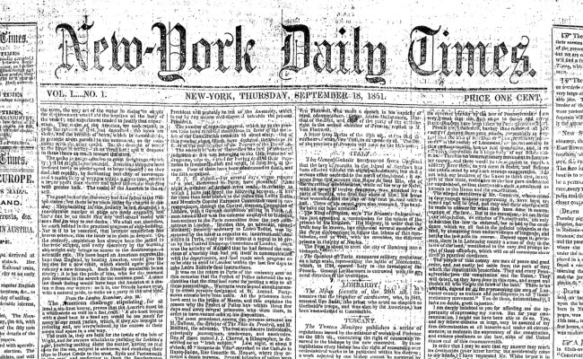 A Brief History Of The New York Times Logo For Normal