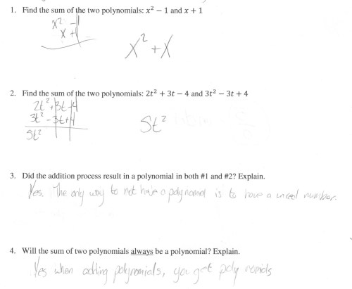 small resolution of Multiply Polynomials Worksheet   Printable Worksheets and Activities for  Teachers