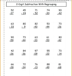 1st Grade Double Digit Addition And Subtraction Worksheets   Worksheets  Free Download [ 1662 x 1287 Pixel ]