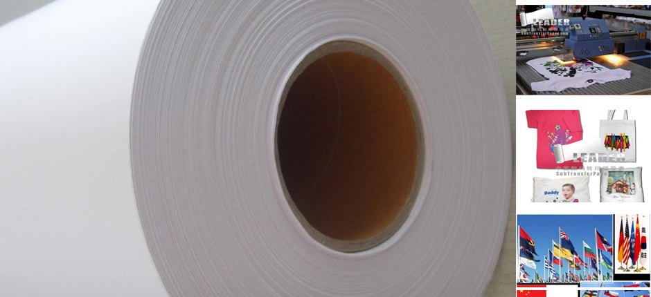 Fabric Printing Dye Sublimation Heat Transfer Paper For