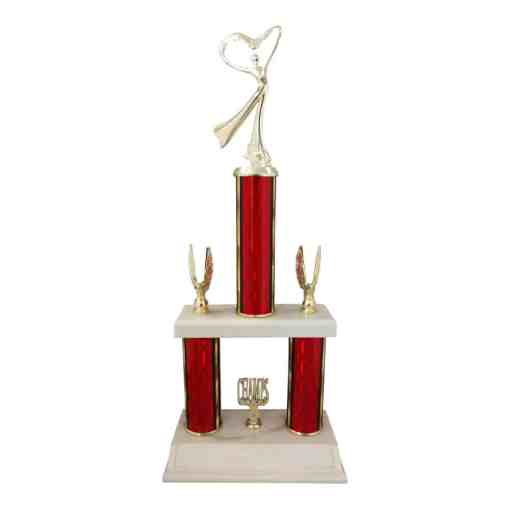 2 Tier Trophy 1207W