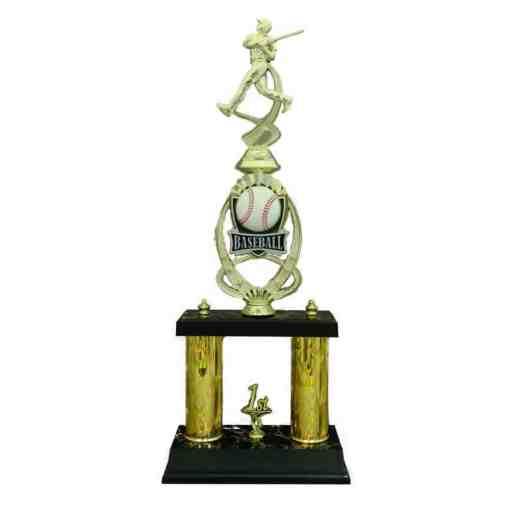 Baseball 2 Column Sport Riser Trophy