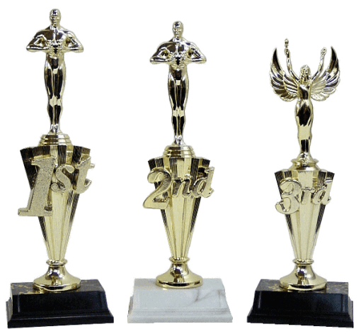 1st, 2nd or 3rd Place
