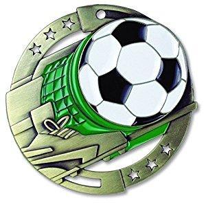 """2-3/4"""" M3XL Soccer Medal"""