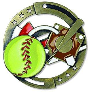 "2-3/4"" M3XL Softball Medal"