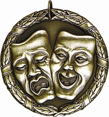 "2"" Drama Medal"