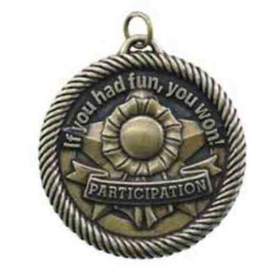 """2"""" Participation Medal"""