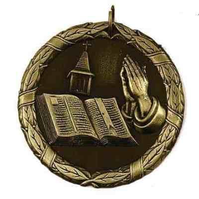 "2"" Religious Medal"