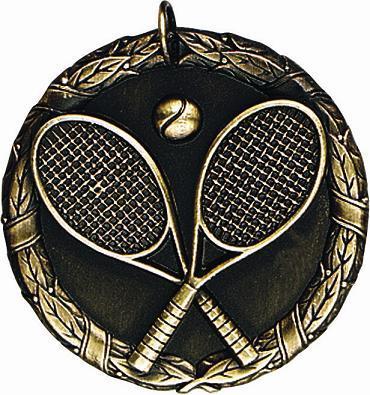 "2"" Tennis Medal"