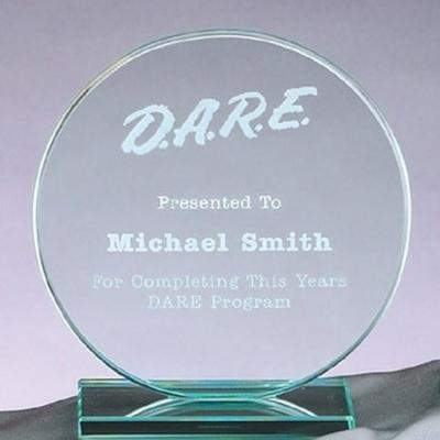 Jade Circle Glass Award