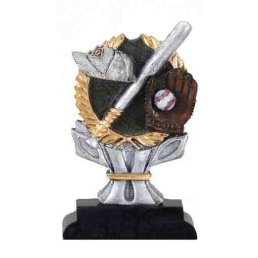 4 Color Baseball Trophy