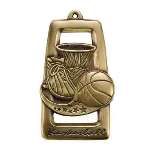 All Star Basketball Medal