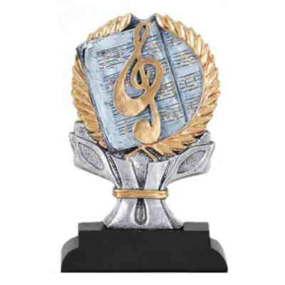 4 Color Music Trophy