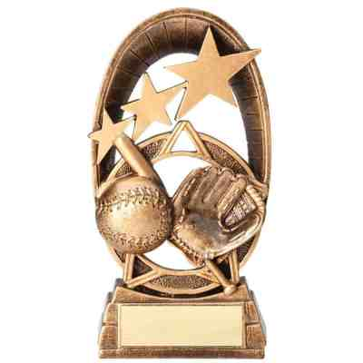 Radiant Stars Baseball Trophy