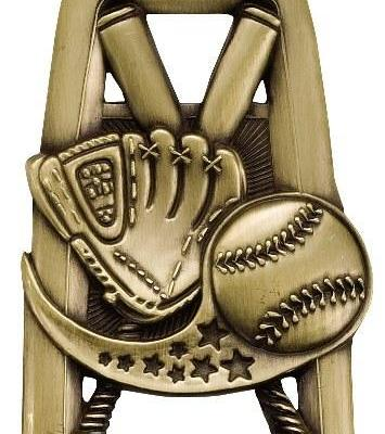 All Star Baseball Medal