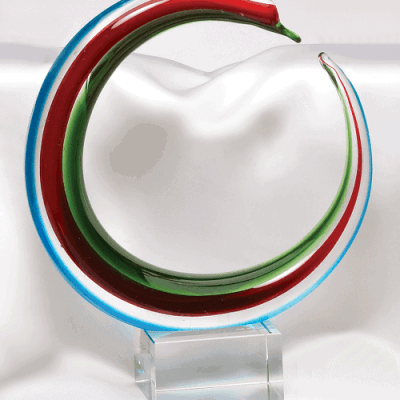 Circle Art Glass Award