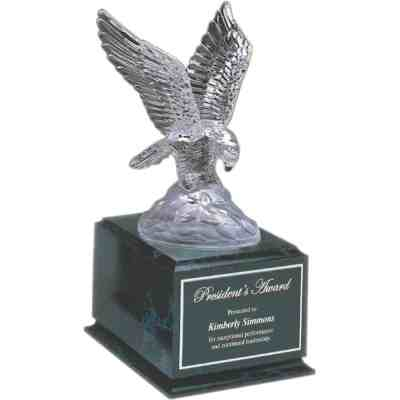Crystal Eagle Award on Base