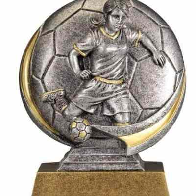 Female Motion Xtreme Soccer Trophy