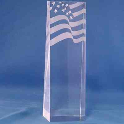 Flag Acrylic Award