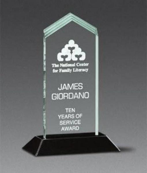Frosted Arrow Pop-In Acrylic Award