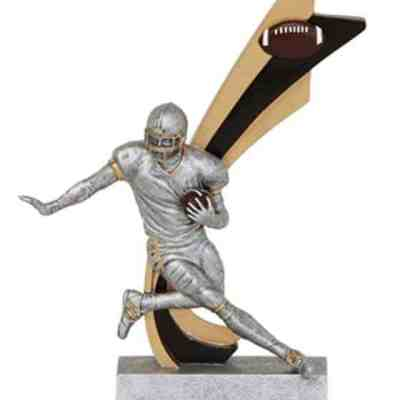 Live Action Football Trophy