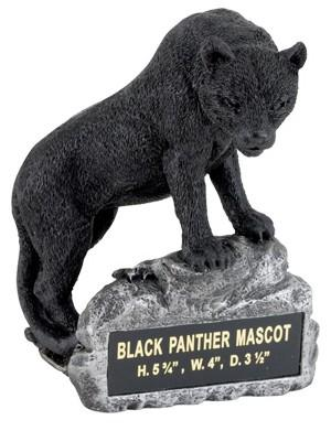 Panther Mascot Trophy