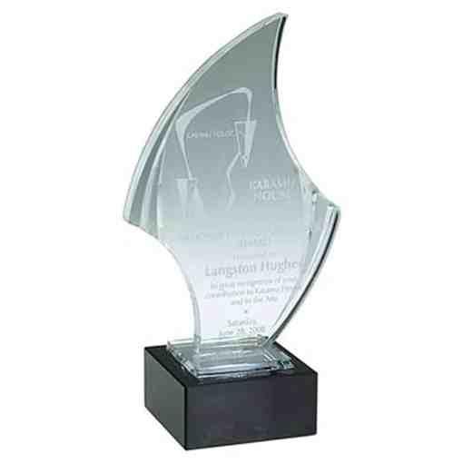 Saber Acrylic Award