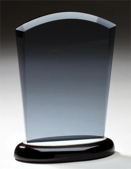 Smoked Glass Tablet Award