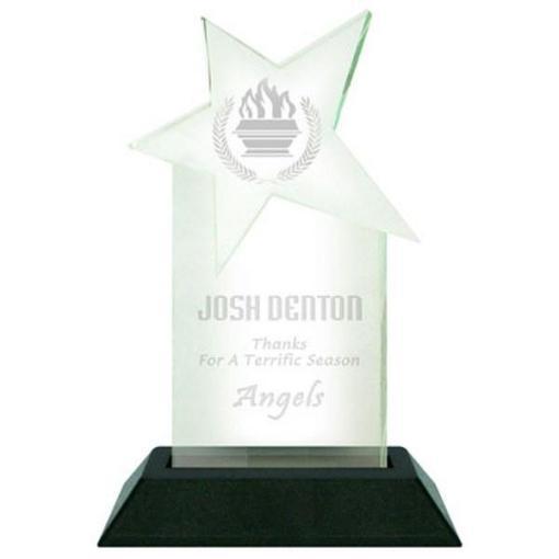 Star Pop-In Acrylic Award
