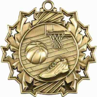 Ten Star Basketball Medal