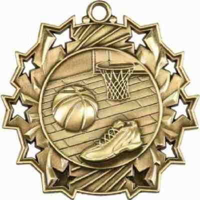 Ten Star Basketball Medal