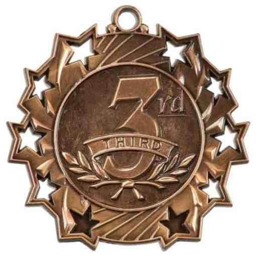 Ten Star Third Prize Medal