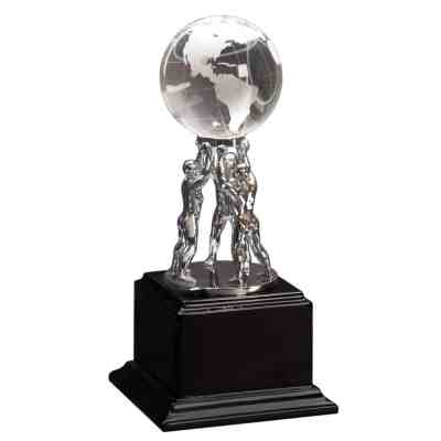 Globe Teamwork Trophy