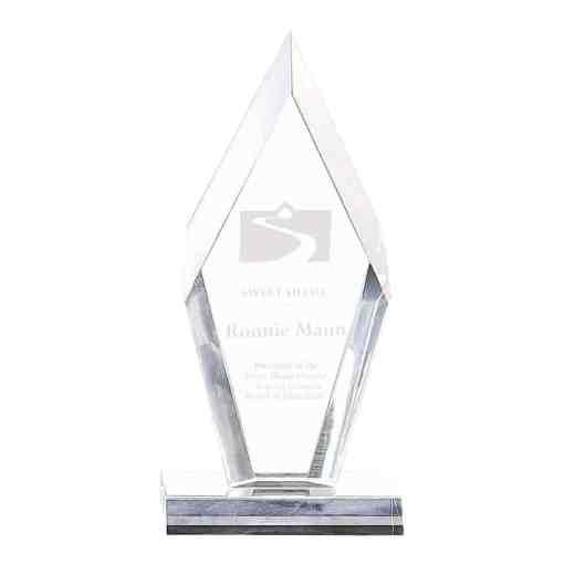 arrowhead acrylic award