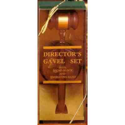 director gavel award