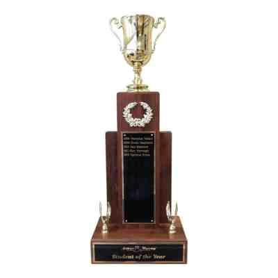 walnut tower perpetual trophy