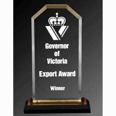 Mirrored Corner Acrylic Award