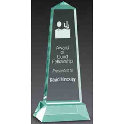 obelisk acrylic award