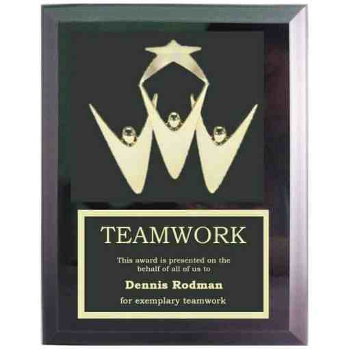 Teamwork Plaque