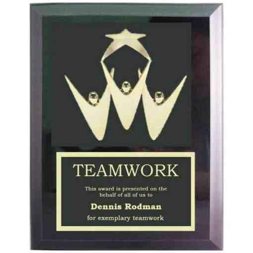 Teamwork Plaque